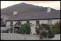 House that in the guidebook had a lovely thatched roof. Carlingford, Ireland.