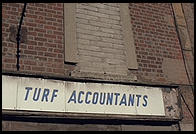 Turf Accountants. Dublin, Ireland.