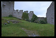 The city wall.  Visby, Gotland.
