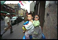 Chinatown.  Manhattan 1995