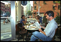 French Roast, 6th Avenue and 11th, Manhattan 1995.