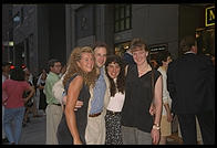 Beth, Philip, Lori, Michell. Manhattan 1995.