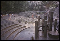 Fountain.  Central Park.  Manhattan 1995.