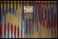 Soho door.  Manhattan 1995.