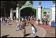 Entrance to University of California, Berkeley campus.