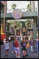 Universal City (shopping mall built in the style of a city street; Los Angeles California)