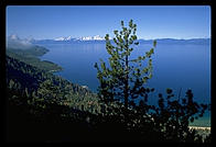 View of Lake Tahoe from the Flume Trail.