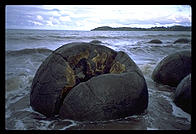 Moeraki Boulders.  South Island, New Zealand.