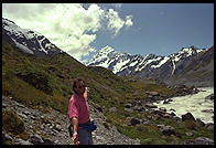 Me in front of Mount Cook, South Island, New Zealand