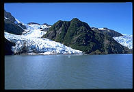 Glacier in Kenai Fjords National Park (Alaska)