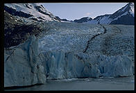 Portage Glacier, just south of Anchorage, Alaska.
