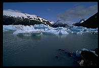Portage Lake, just south of Anchorage, Alaska.