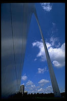 Saarinen's Gateway Arch.  St. Louis, Missouri.