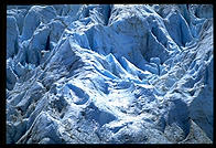 Close-up of a glacier in Kenai Fjords National Park (Alaska)