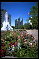 Mormon Temple, Salt Lake City, Utah.