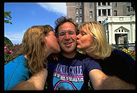 Jo-Anne, Philip, and Elke.  Victoria, British Columbia