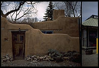 Adobe, Santa Fe, New Mexico