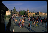 The Charles Bridge, Prague's ultimate hangout