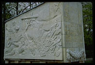 The Russians fight back (Treptower Park, Berlin)