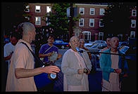 Hare Krishna in Harvard Square.