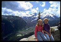 Naomi and Marie.  Mt. Rainier National Park (Washington State)