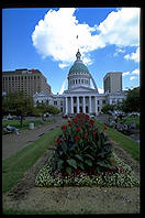 The Capitol building.  St. Louis, Missouri