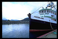The fishing vessel Frigidland.  Haines, Alaska.