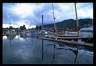 Harbor in Haines, Alaska.