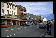 Downtown   Ketchikan, Alaska.