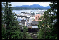 View from the Westmark, Ketchikan, Alaska.