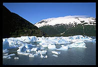 Portage Lake. South of Anchorage, Alaska.