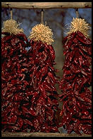 Chili Peppers in Chimayo, New Mexico