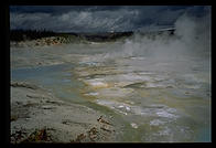 Porcelain Basin in Yellowstone National Park