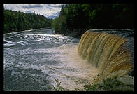Tahquamenon Falls, 2nd largest East of the Mississippi; Upper Peninsula of Michigan
