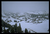 June Snow in the 11,000' high Beartooth Pass, the most direct route from Billings, Montana to Yellowstone National Park