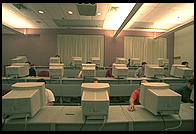 Room 1-115.  An electronic classroom at MIT