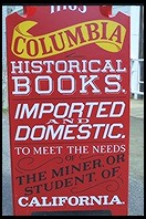 Bookstore.  Columbia State Historic Park.  Highway 49.  California