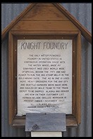 Knight Foundry.  Sutter Creek.  Highway 49.  California