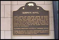 Murphys, California.