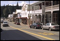 Main Street.  Sutter Creek.  Highway 49.  California