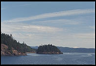 Ferry to Orcas Island (island of private beaches for rich Microsoft guys)