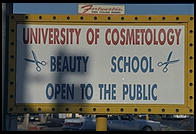 University of Cosmetology.  Las Vegas, Nevada