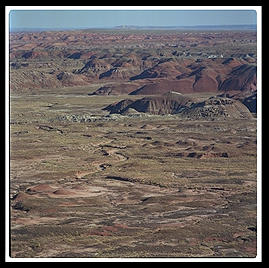 Painted Desert (north-central Arizona).