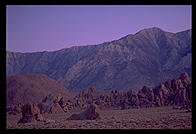 Alabama Hills.  Eastern Sierra.  California.