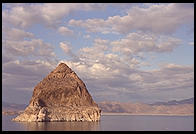 Pyramid Lake, NE of Reno, Nevada. On the Paiute Indian Reservation.