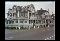 Hotel on the water in Oak Bluffs, Martha's Vineyard, Massachusetts