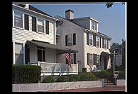 Shiretown Inn, Edgartown, Martha's Vineyard, Massachusetts, notable as the spot where Ted Kennedy spent 8 hours before reporting the drowning of Mary Jo Kopechne