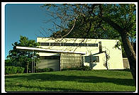 Gropius House, Lincoln, Massachusetts, designed by and home of the architect