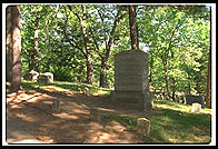 Thoreau's Grave at Author's Ridge in Concord, Massachusetts