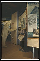 Exhibits just before entering the Wayside